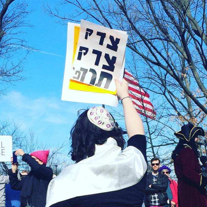 Interview with Washington Jewish Week: Why I chose to march in the 2018 Women's March on Washington