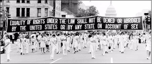Another one down, one more to go: passing the Equal Rights Amendment