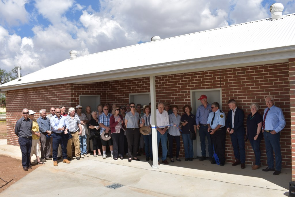 Ribbon cutting ceremony to officially open upgrades at the Murrumburrah Showground.