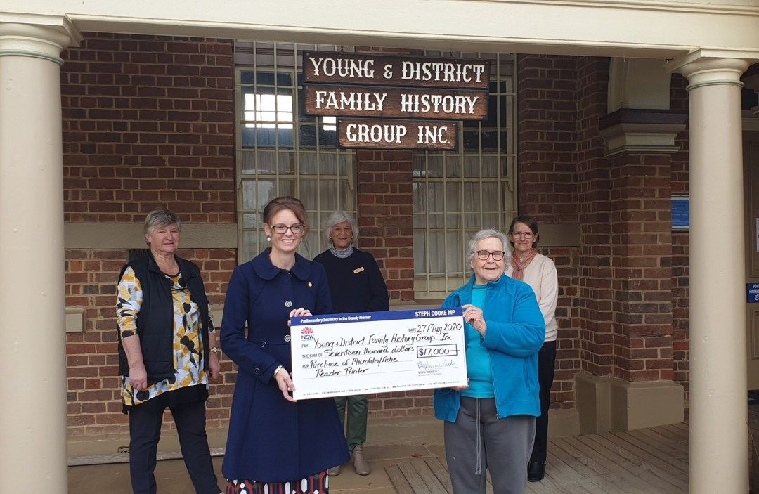 $34,500 for Community Building Projects in Young