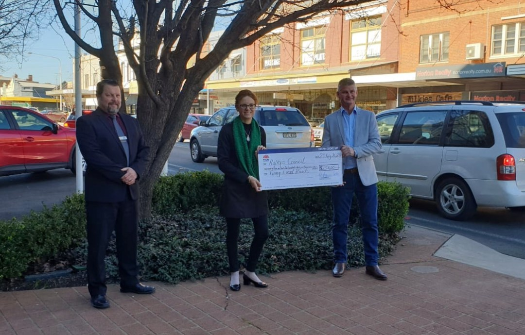 $2,536,010 to Fix Local Roads Across Hilltops Shire