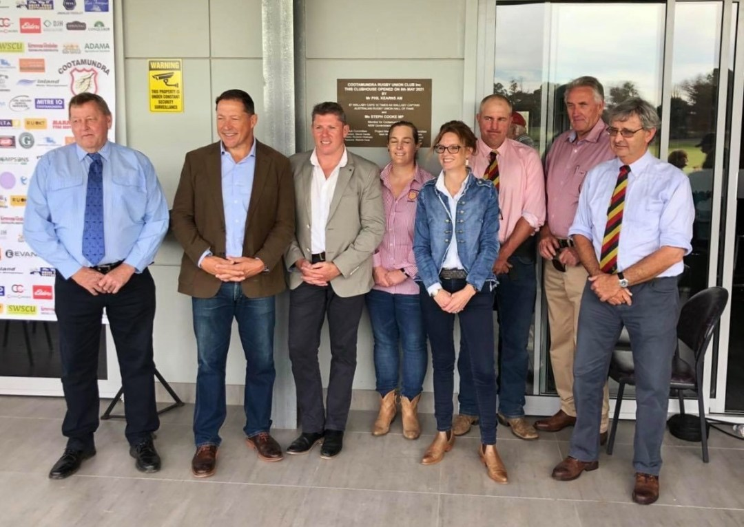 Cootamundra Rugby Club Opened