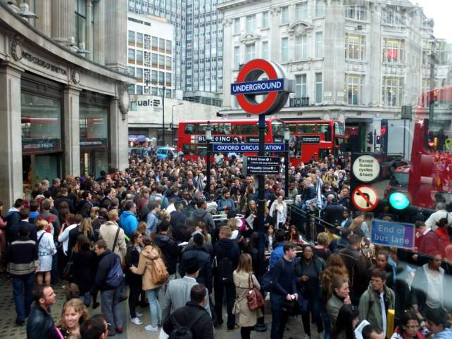 Busy London - the button