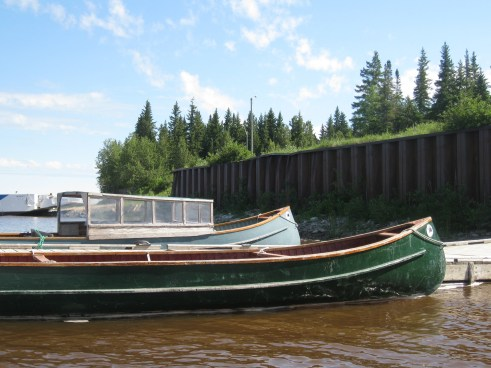 The boats of Moose Factory
