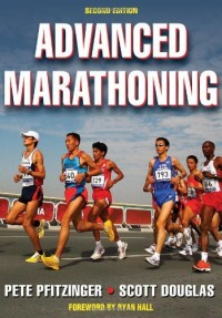 The cover of Advanced Marathoning