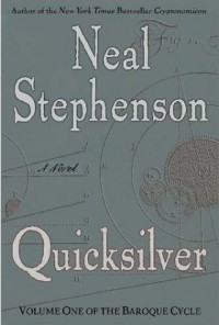 The cover of Stephenson's Quicksilver