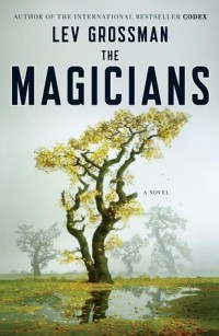 The cover of Grossman's The Magicians