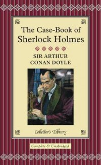 The cover of Doyle's The Case-Book of Sherlock Holmes