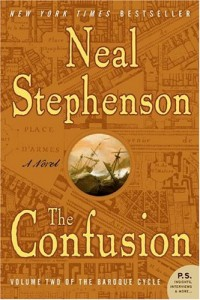 The cover of Stephenson's The Confusion