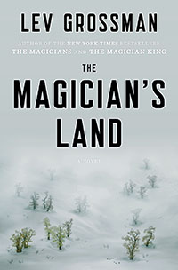 The cover of Grossman's The Magician's Land