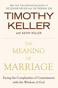 The cover of Keller's The Meaning of Marriage