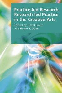 The cover of Smith and Dean's Practice-led Research, Research-led Practice in the Creative Arts