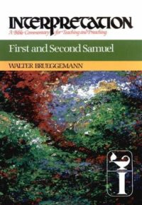 The cover of Brueggemann's First and Second Samuel