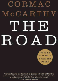 The cover of McCarthy's The Road