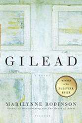 The cover of Gilead by Marilynne Robinson