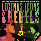 The cover of Legends, Icons & Rebels