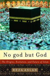 The cover of Aslan's No god but God