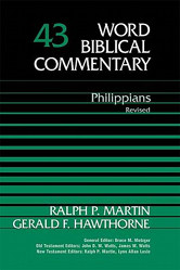 The cover of Philippians by Martin and Hawthorne