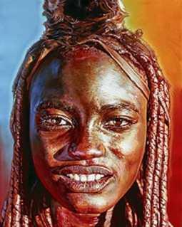 Himba Super Model
