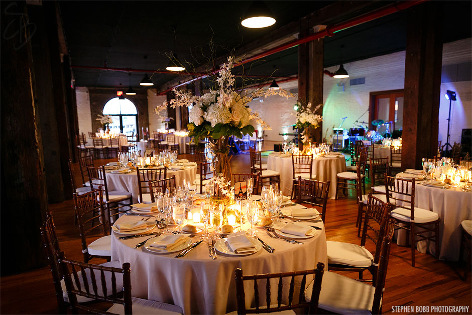 Liberty Warehouse Wedding Brooklyn NY  Stephen Bobb