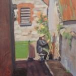 'The plein air painter' Valerie