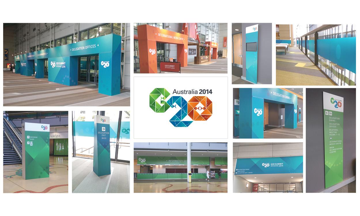 Stephen Brumwell Graphics & Web Development - Print, Branding, Large Scale Printing, Large Format, G20 Brisbane