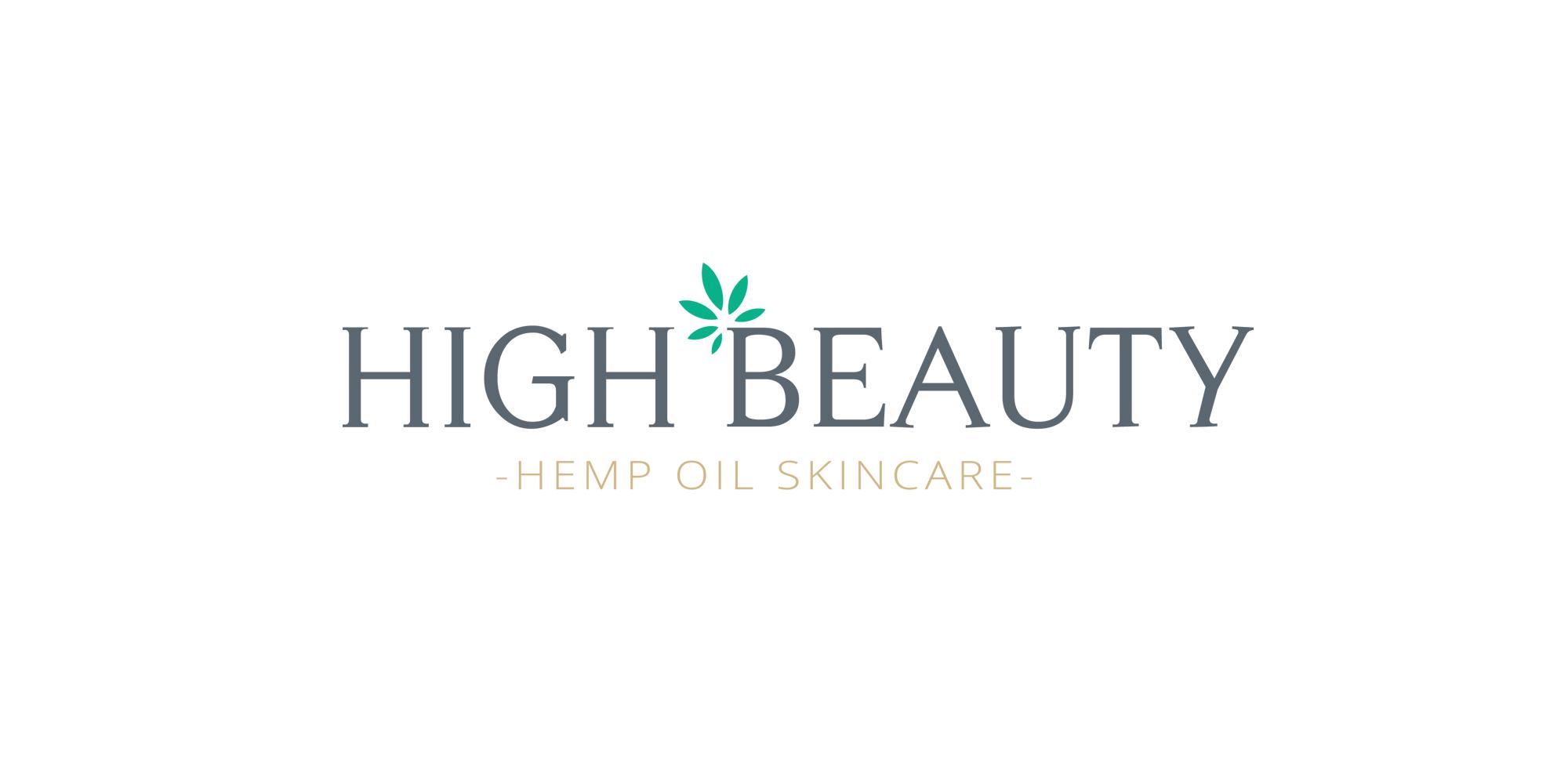 High Beauty - Hemp Skincare Logo