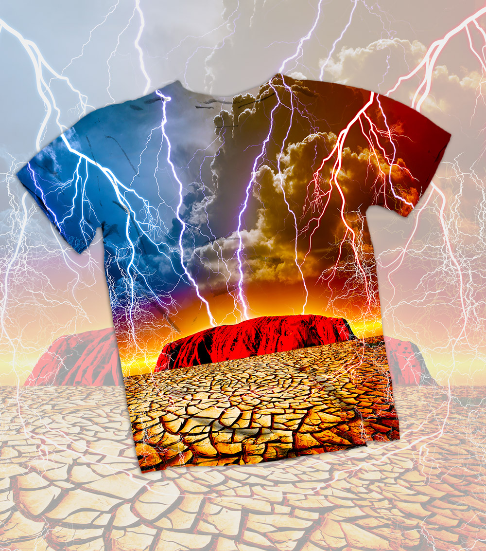 Appocalyptic Outback T-Shirt Design