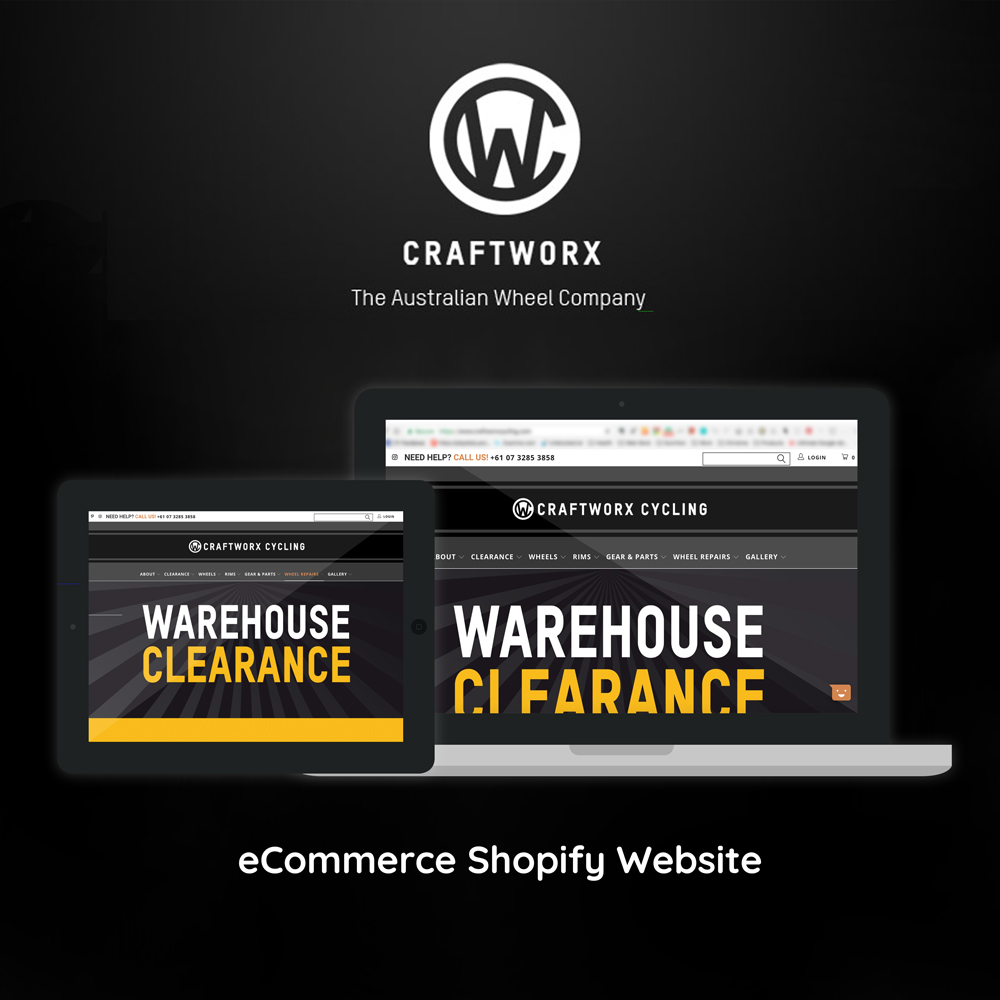 Stephen Brumwell Web & Graphics   Responsive Website Design for Craftworx Cycling