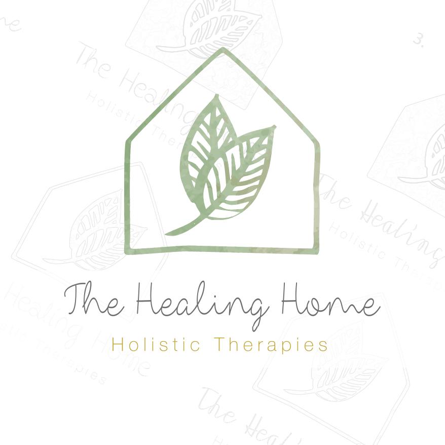 Stephen Brumwell Web & Graphics   The Healing Home Corporate Branding & Logo Design
