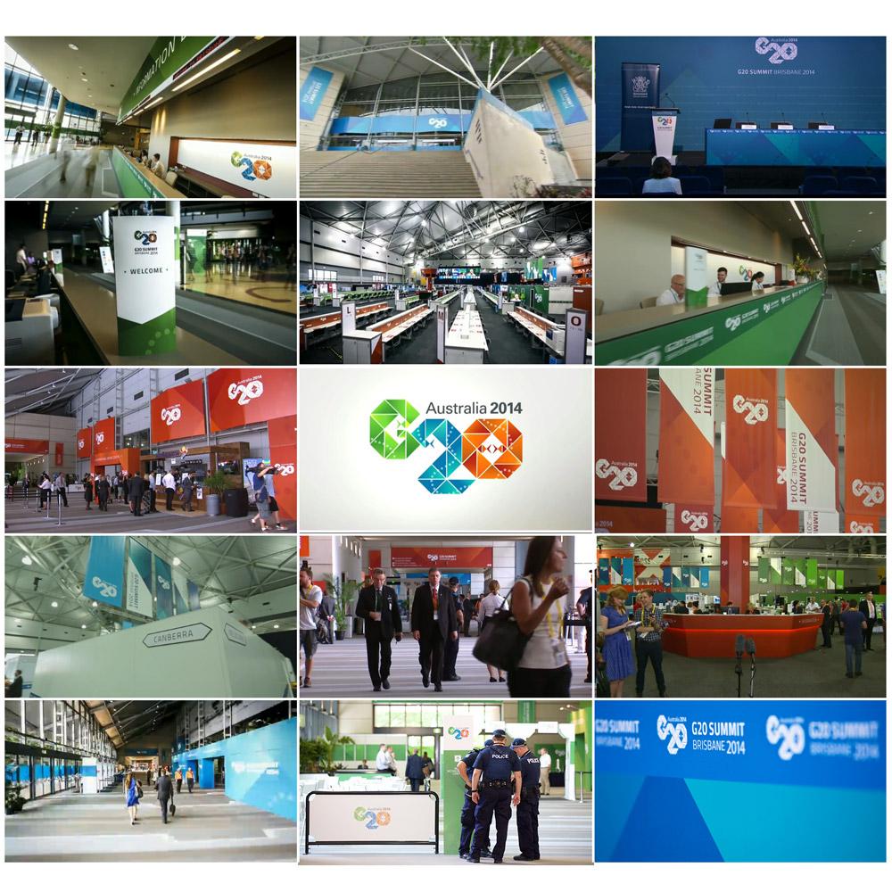 Stephen Brumwell Web & Graphics   G20 Corporate Branding and Large Format Pre-press Print Setup