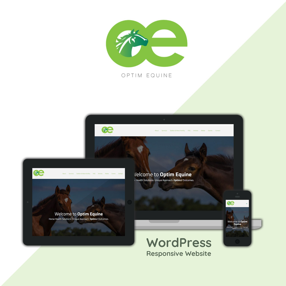 Optim Equine - Horse Health Solutions. Unique Approach. Optimal Outcomes.
