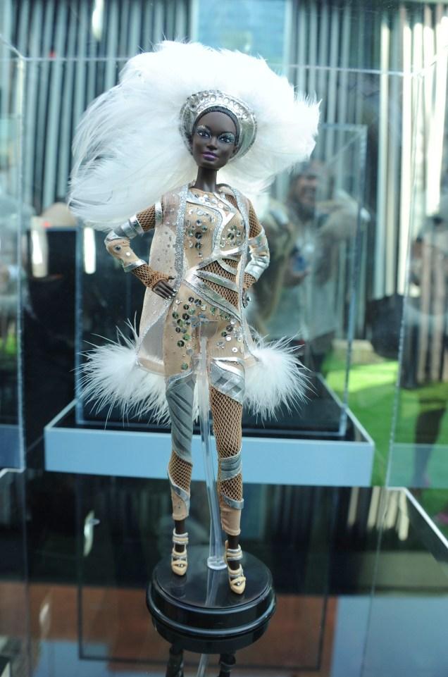 Pazette Barbie NYFW September 13, 2012