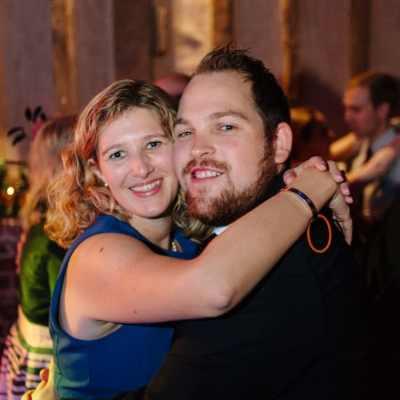 Norfolk wedding photographer – wedding guests dancing