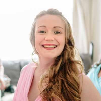 Norfolk wedding photographer – bridesmaid smiling