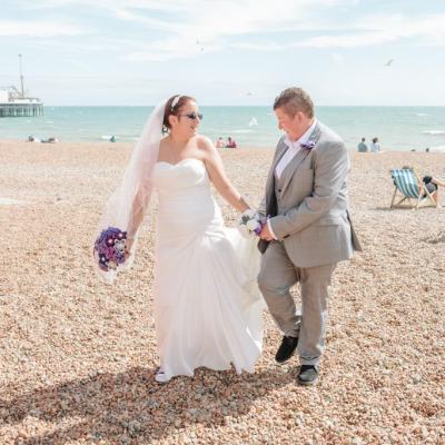 Norfolk wedding photographer – Brighton beach