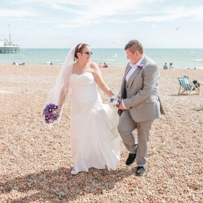Norfolk wedding photographer – Brighton beach