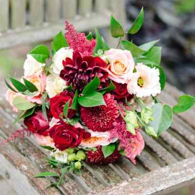 Norfolk wedding photographer – bridal bouquet