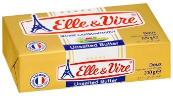 unsalted butter - 82% fat