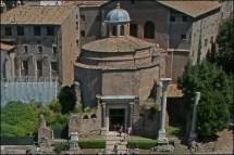 Romulus Roman Forum Temple