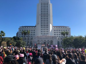 Woman's March Downtown L.A. Jan. 20, 2018