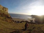 Fall Bay, Exploring Gower