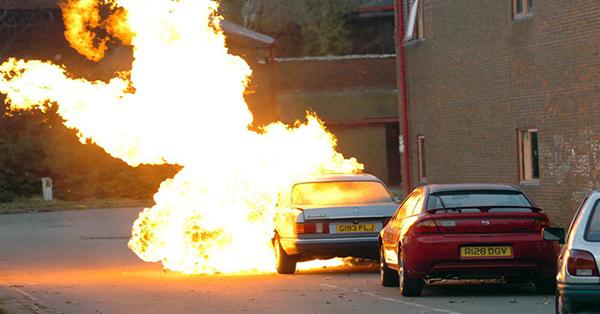 Baseline movie explosion