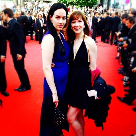 Sophie and Sam in Cannes