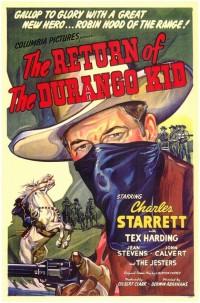 The Return of The Durango Kid movie poster