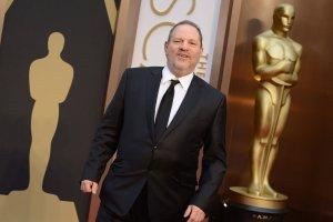 Hollywood film producers Harvey Weinstein at the Oscars