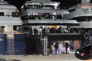 Cannes boat party