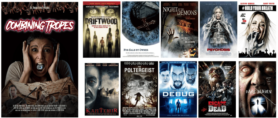 5 Of Horror Movie Posters Combine Multiple Tropes Its Debatable Whether Such Combinations Have A Positive Impact On The Viewer By Giving Them More Clues
