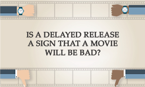 Is a delayed release a sign that a movie will be bad? | Stephen Follows