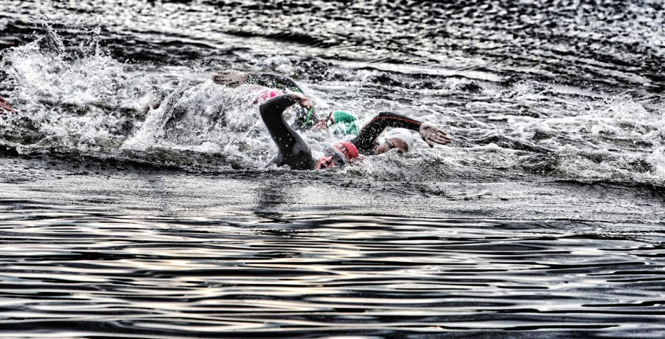 open water swimming in Yorkshire